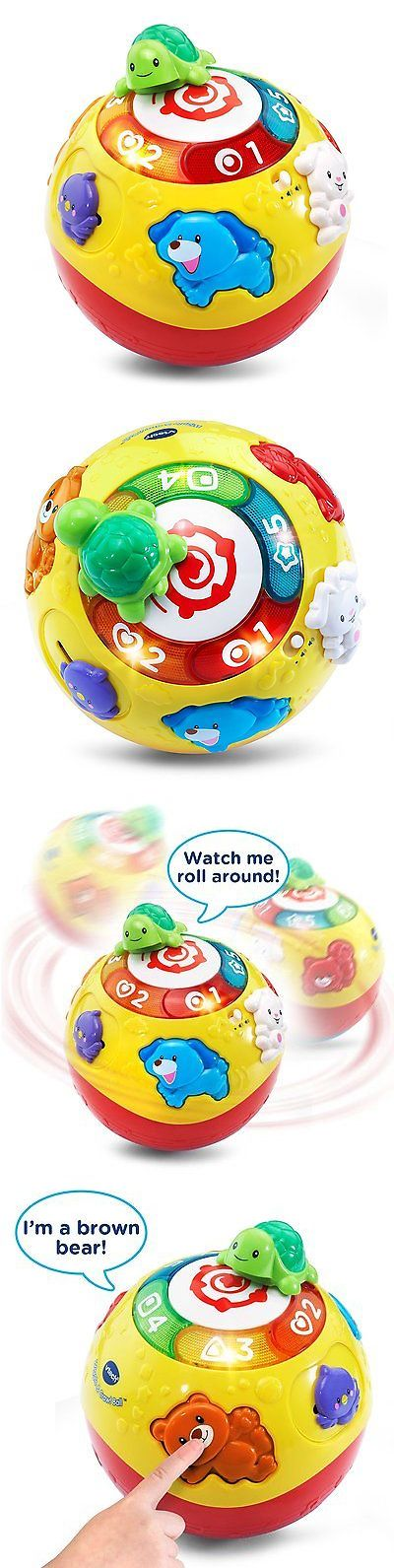 Toys for Baby 19068: Vtech Wiggle And Crawl Ball Baby Toddler Educational Learning Music Toy Gift New -> BUY IT NOW ONLY: $44.73 on eBay!