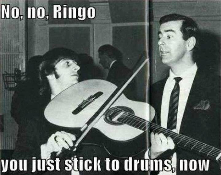 Bildresultat för Ringo Starr joking