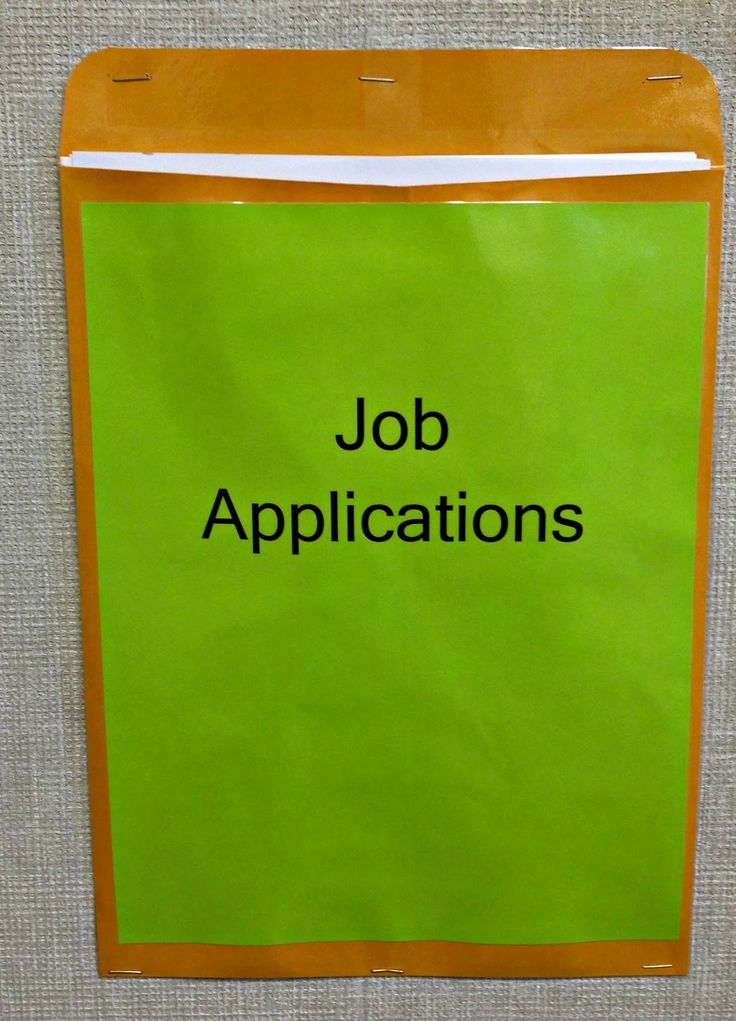 Classroom job applications: helps with assigning tasks