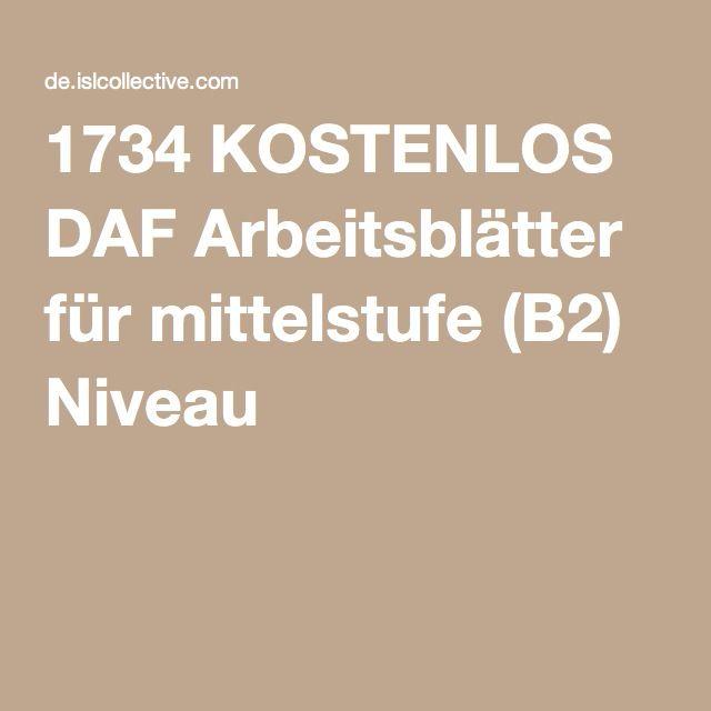 1734 kostenlos daf arbeitsbl tter f r mittelstufe b2 niveau schule daf arbeitsbl tter. Black Bedroom Furniture Sets. Home Design Ideas