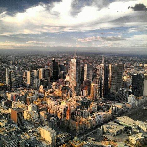 Melbourne skyline #Australia
