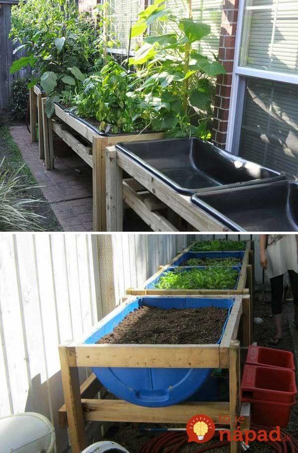 Perfektné nápady do každej záhrady.