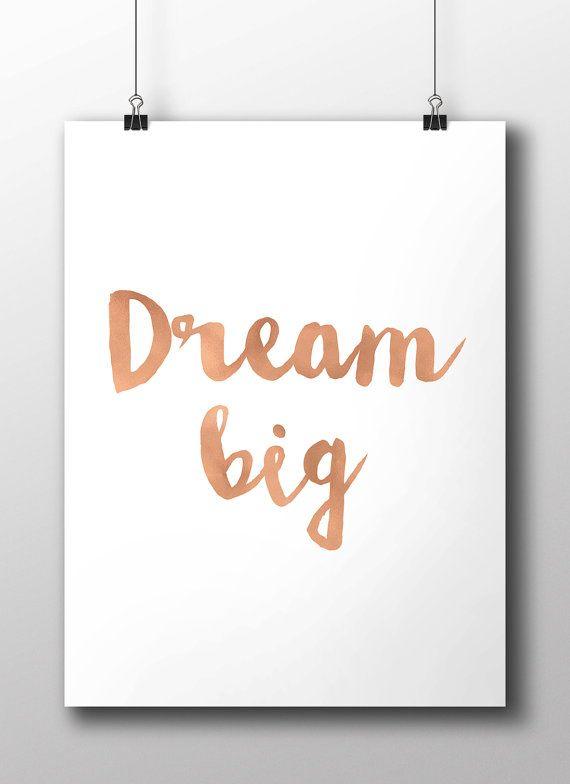 copper quote dream big