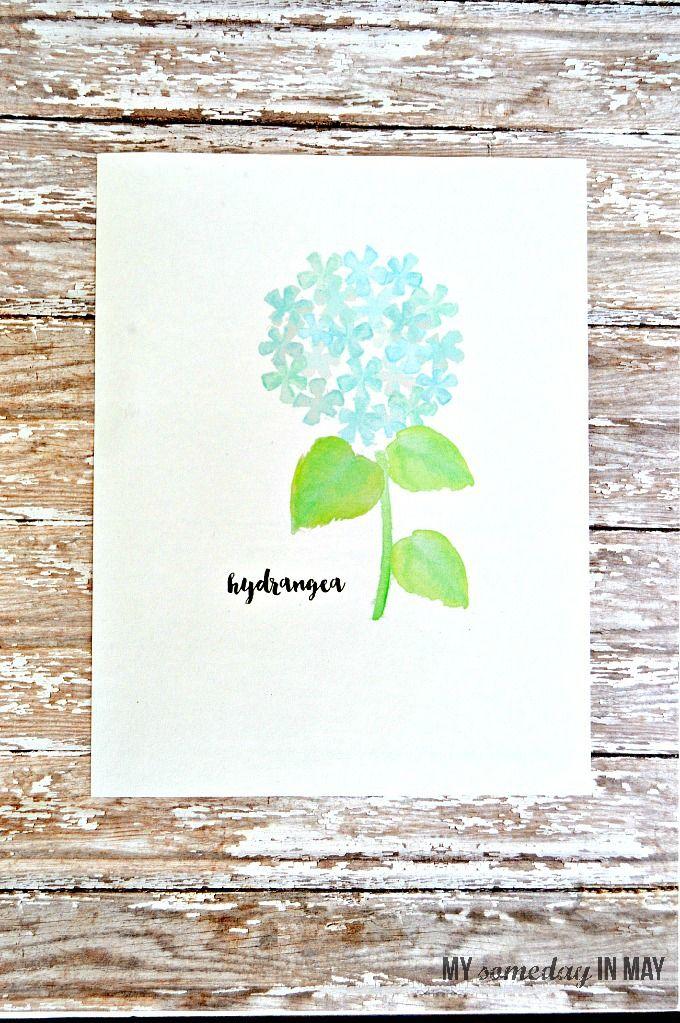 watercolorhydrangea1