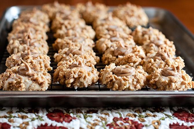 and Honey Thumbprint Cookies   Just cookies   Pinterest   Thumbprint ...