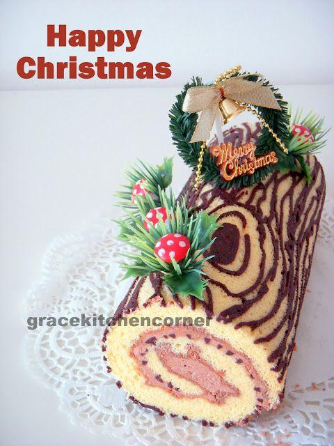 Kitchen Corner: Christmas Log Cake