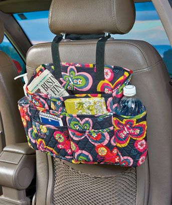2-Pc. Quilted Auto Organizer Sets are perfect for your summer road trips! #LTDCom #roadtrip