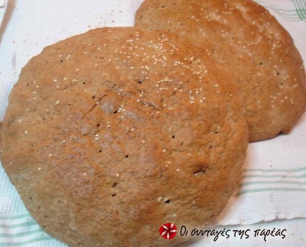Ψωμί ολικής άλεσης #sintagespareas