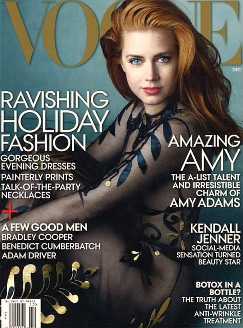 Amazing Amy: Amy Adams in Valentino by Annie Leibovitz for Vogue US December 2014