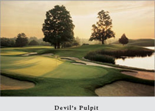 Devil's Pulpit Golf Club has employs my kids in the Summer