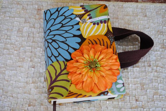Fabric Book Covers With Handles : Fabric book cover with handles mother s day by