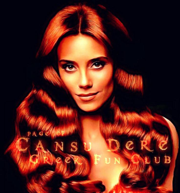 Portraits of #CansuDere #L'Oréal Paris 2012