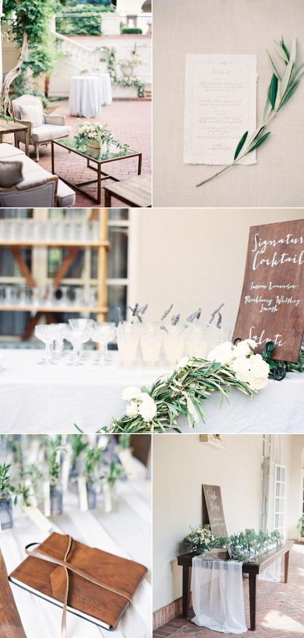 Tuscan Inspired Saratoga Villa Wedding