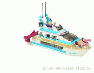 Lego Dolphin Cruiser set 41015