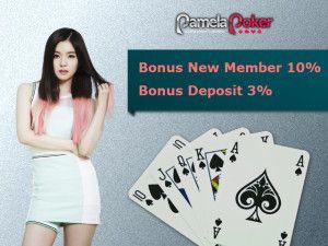 Banyak faktor yang mempengaruhi hasil akhir perjudian. Sedikit mengenai permainan poker. Situs poker online siapkan keuntungan untuk tarik perhatian http://pamelapoker.org/situs-poker-online-tarik-anggota-dengan-keuntungan/