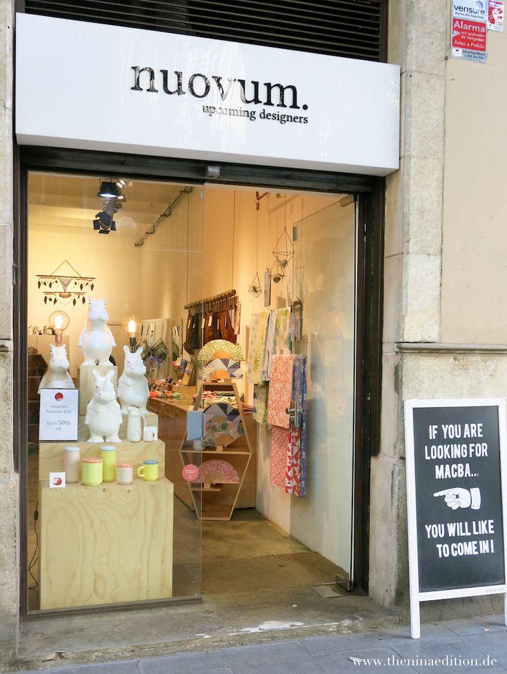 Barcelona - Shopping Tipps: Novum  Pintor Fortuny, 30 08001 Barcelona bcnstore@nuovum.com