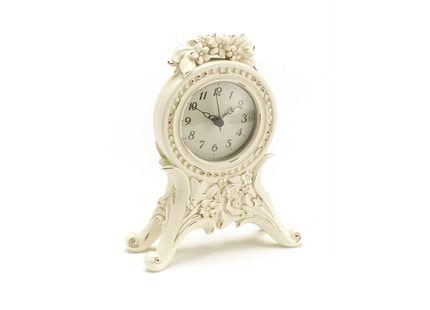 Cream Decorative Floral Mantel Clock at LAURA ASHLEY