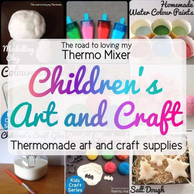 Thermomade Childrens Art and Craft Supplies