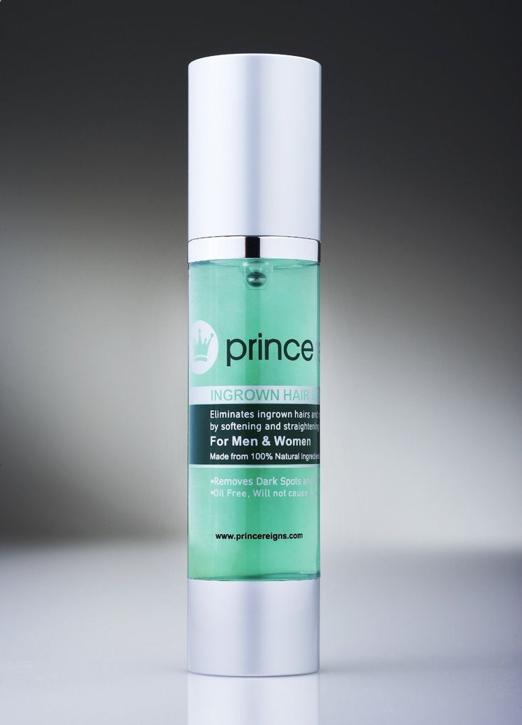 Princereigns Ingrown Hair Serum / Gel Removes Ingrown Hair from Shaving and Razor Bumps in 2 days Prevents Future Ingrown Hairs and Bumps by Softening  Straightening Used by celebs  Models to achieve a flawless complexion Removes Blemishes and Dark Spots for a flawless complexion Unisex and All Natural