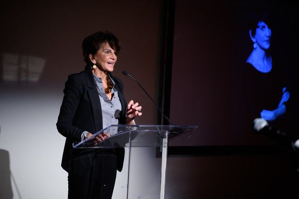 Mercedes Ruehl Photos Photos - Mercedes Ruehl speaks at the Coalition Against Trafficking In Women honoring Lynn And John Savarese at Tribeca Rooftop on October 5, 2016 in New York City. - Coalition Against Trafficking in Women Honors Lynn and John Savarese