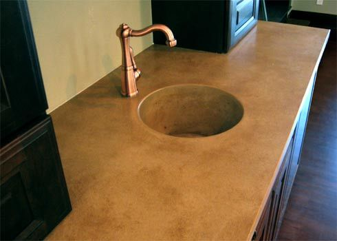 Concrete Sink Sinks And Bathroom Sinks On Pinterest