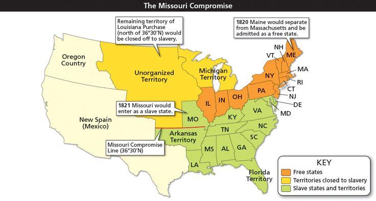 Best 25 Missouri Compromise Ideas On Pinterest History