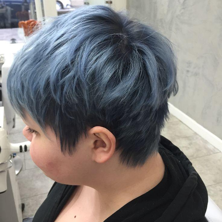 Blueish pastelhair