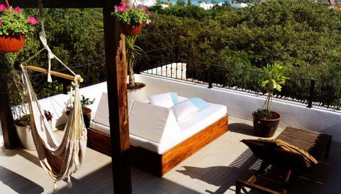 LA SEMILLA – PLAYA DEL CARMEN in Mexico.  Hotel La Semilla Playa Del Carmen  Calle 38 Norte mz. 4 lt. 3 entre 5ta. Av. y el Mar, Playa del Carmen, Q. Roo, México, 77720.  Tel.: +52 984 1473234  E-mail: reservations@hotellasemilla.com