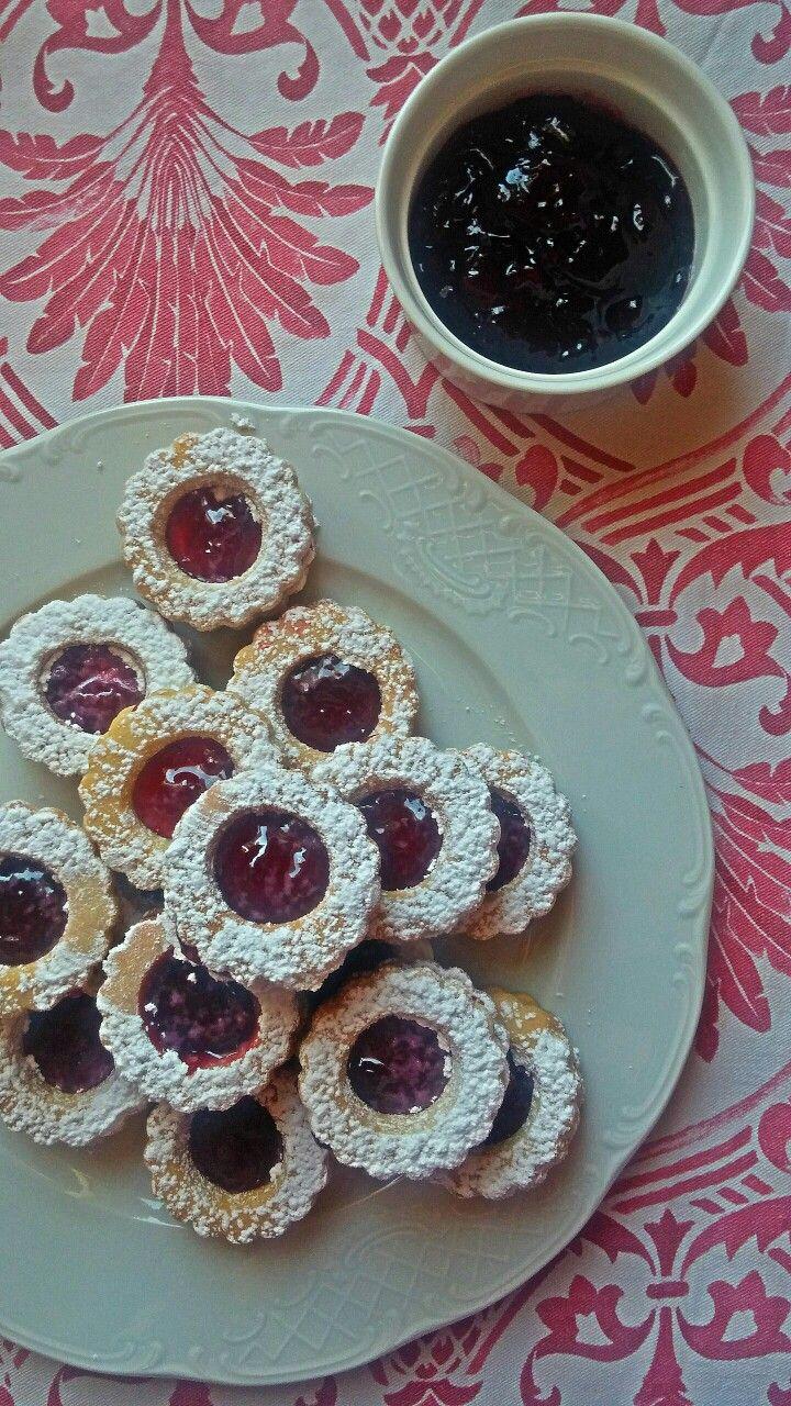 Homemade sable cookies