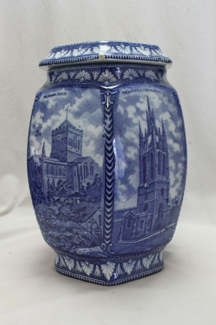 24 best blue and white china images on pinterest white china the tallest of the tea caddies made for ringtons tea by maling c1930 china rosewhite reviewsmspy