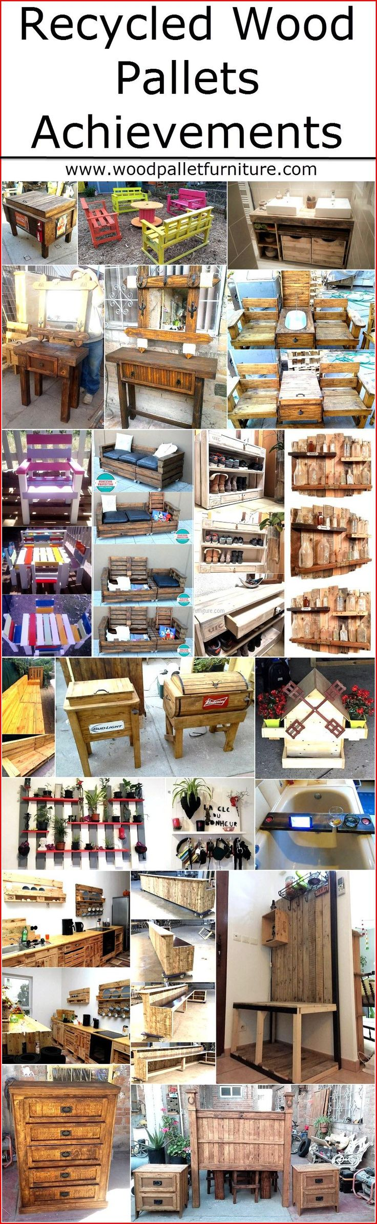 Recycled Wooden Pallets Achievements