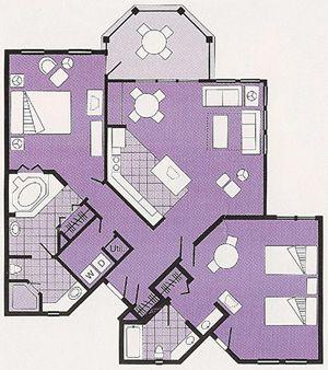 61 best Disney floor plans images on Pinterest | Disney hotels ...
