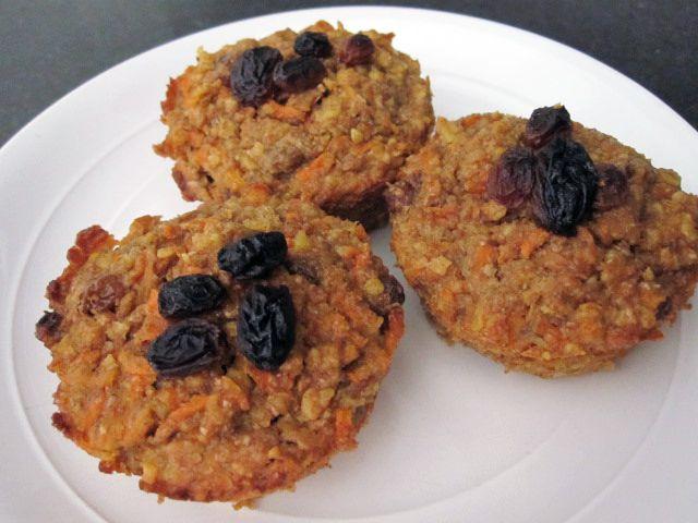 Muffins santé aux carottes | .recettes.qc.ca