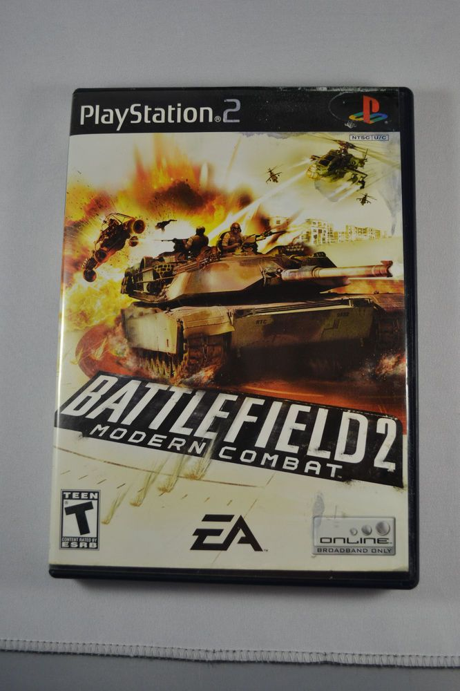 Battlefield 2: Modern Combat (Sony PlayStation 2, 2005) + Free Shipping!