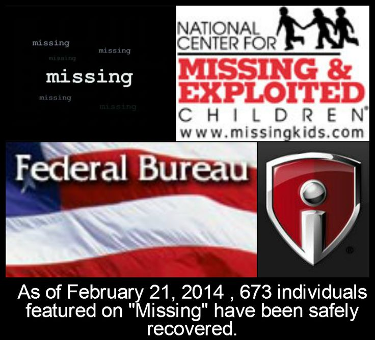 """Missing"" is a nationally-syndicated weekly television series featuring actual cases of missing persons, both children and adults, from across North America. Working with local, state and federal law enforcement agencies, including the FBI, and missing persons organizations such as The National Center for Missing and Exploited Children, our goal is to provide viewers with vital facts about missing individuals and to increase public awareness."
