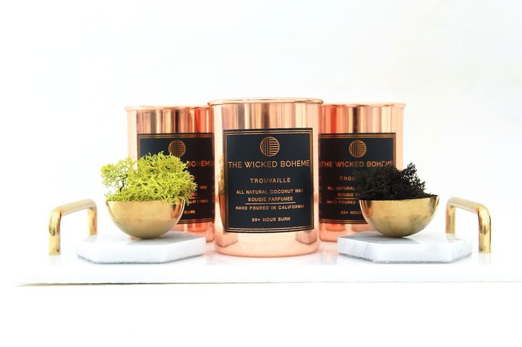 copper candles wicked boheme