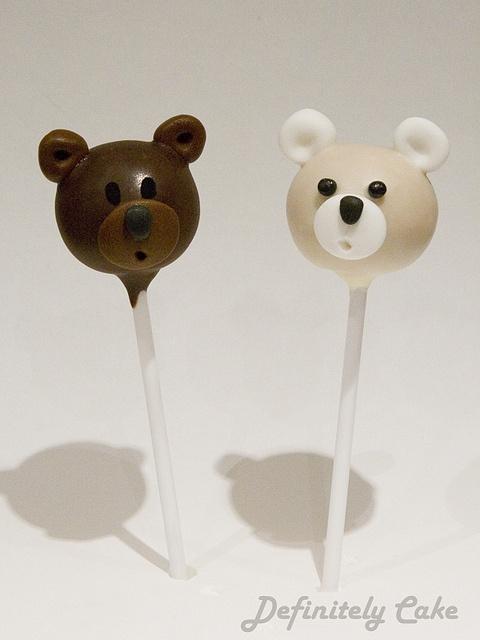 #Cute #Bear #Cake pops -