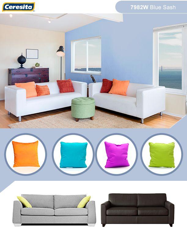 #CeresitaCL #PinturasCeresita #Color #Home #Pintura #Tendencia #Estilo #Decoración #Arquitectura #Diseño #Casa #Hogar #Deco *Códigos de color sólo para uso referencial. Los colores podrían lucir diferentes, según calibrado de su monitor.