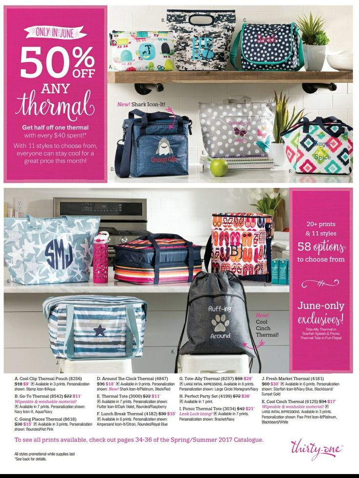 Thirty-One Gifts Customer Special June 2017