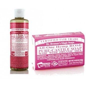 Con el Pack Básico Rosa de Jabones Ecologicos Dr Bronners te ahorrás más de un 10% http://belleza.tutunca.es/pack-basico-rosa-de-jabones-ecologicos-dr-bronners