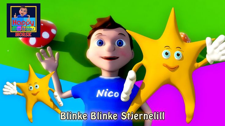 Blinke Blinke Stjernelill Norske Barnesanger