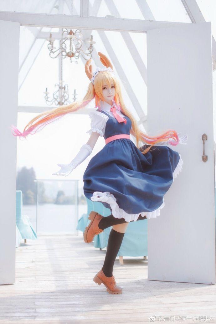 Miss Kobayashi's Dragon Maid Tohru Cosplay by yui金鱼   #MissKobayashisDragonMaid #TohruCosplay #cosplayclass #costume