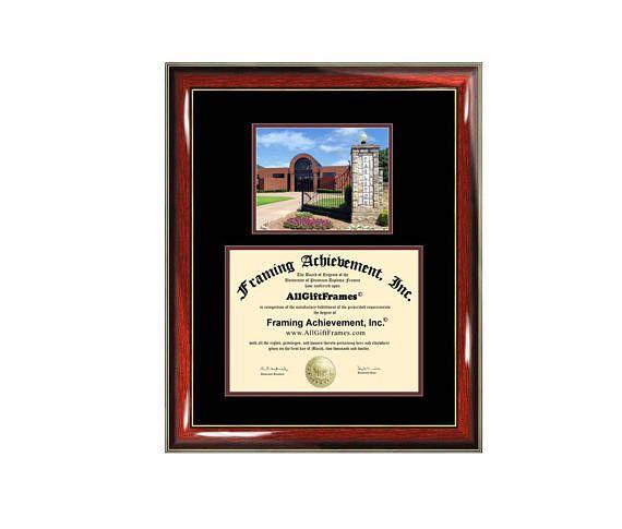 Tarleton State University diploma frame campus degree