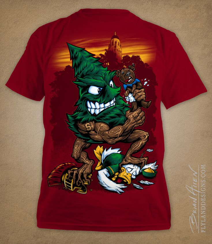 17 best images about stanford the tree on pinterest for Stanford long sleeve t shirt