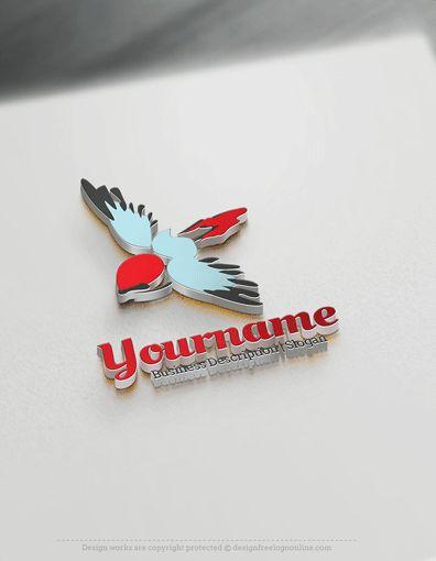 Design Free Logo: Bird Online Logo Template
