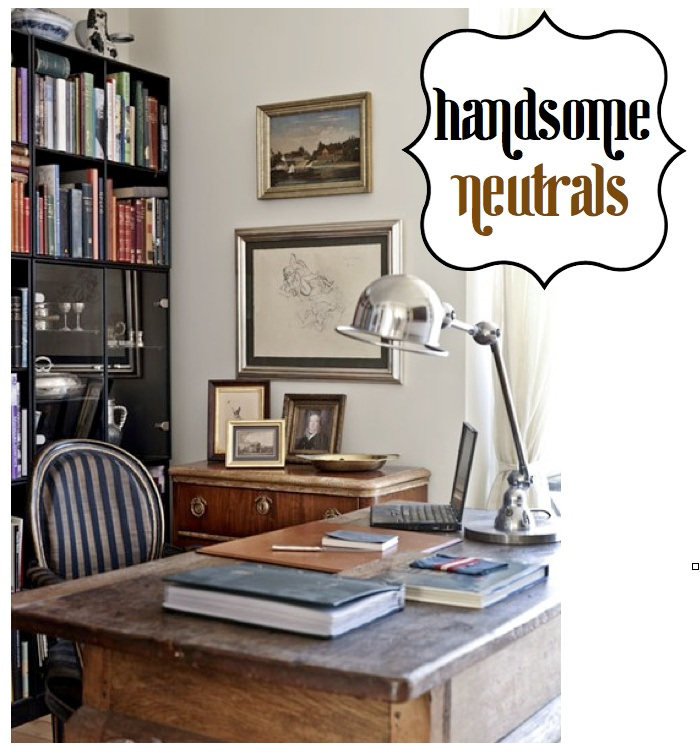 Manly office inspiration.