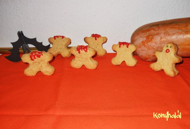 Halloween keksz
