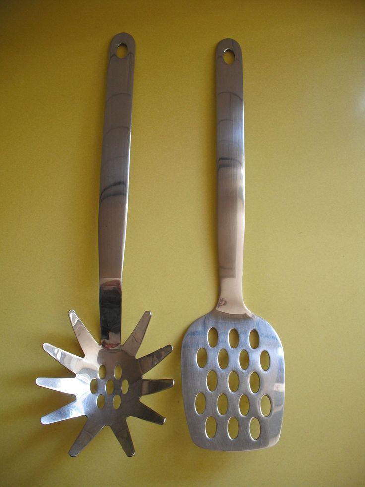 Vintage Judge Kitchen Cooking Utensils - Stainless Steel - Mid-Century - Atomic | eBay