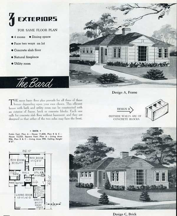 55 best 1930-1965 Minimal Traditional images on Pinterest | Vintage ...