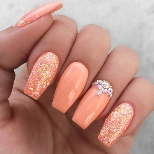 43 Classy Nail Art Color for Summer